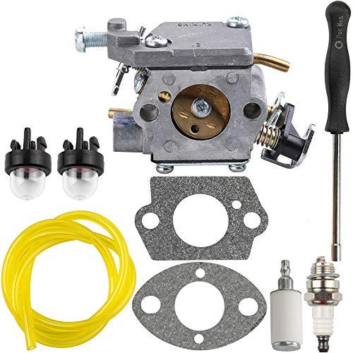 35cc Gas Chainsaw - 309362003 Carburetor with Adjustment Tool Parts Kit for Homelite 309362001 35cc 38cc 42cc Chainsaw UT-10562 UT-10564 UT-10566 UT-10568 Carb