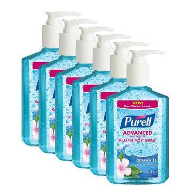 Ocean Kiss Hand Sanitizer - 2 OZ / 6 per Case (Purell Hand Sanitizer Ocean Mist)