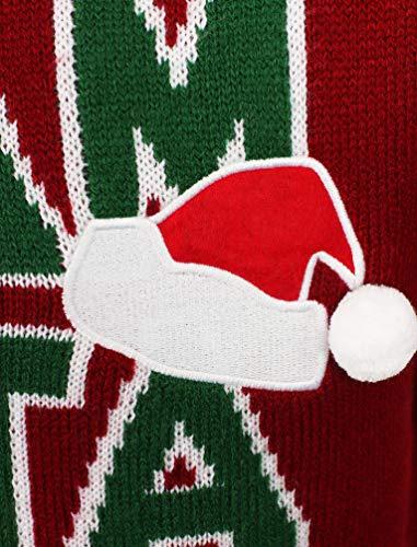 maglioncino Natalizio Team Uomo Seasons Santa Red Natalizie Da Christmas Greetings q6xxwCIg1