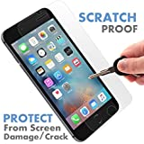 ⚡ [ PREMIUM ] Apple iPhone 7 Plus Tempered Glass Screen Protector - Shield, Guard & Protect Phone From Crash & Scratch - Anti Smudge, Fingerprint Resistant, Shatter Proof - Best Front Cover Protection