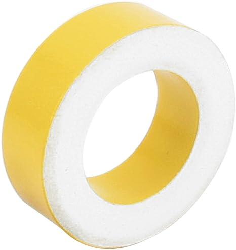 Sourcingmap/® 33mmx19mmx11mm Jaune Ring Puissance Blanc Ferrite Toro/ïde Noyau AT131-26
