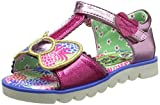 Irregular Choice Girl's Kids Baby Bow Bell Pink Open Toe Sandal Childrens Shoe Pink Uk 2.5 - Eu 35 - Us 3.5
