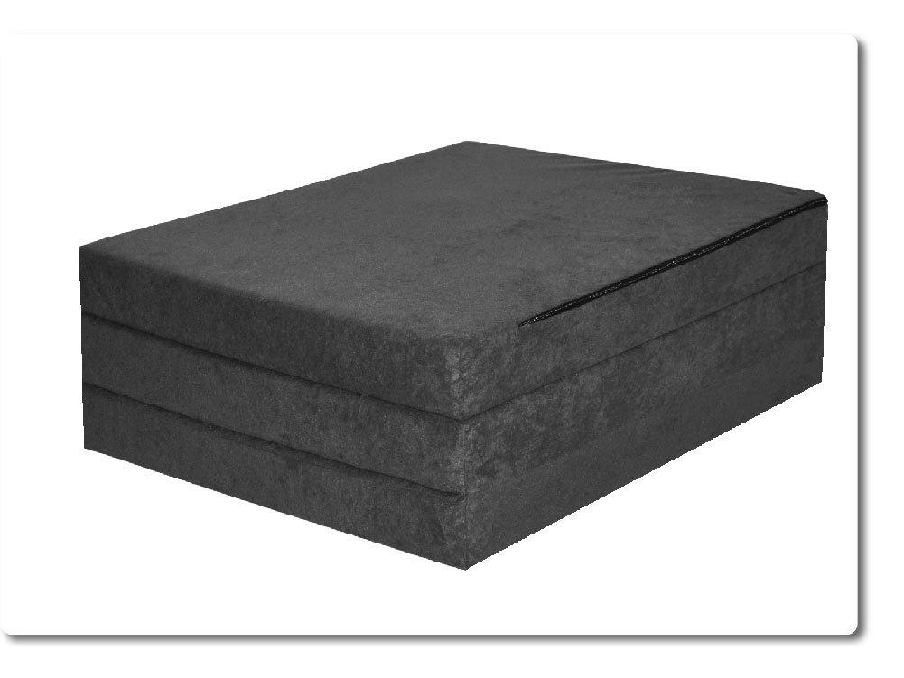 Fortisline 195/x 80/x 9/cm letto per ospite colore: Grigio Materasso pieghevole per ospiti