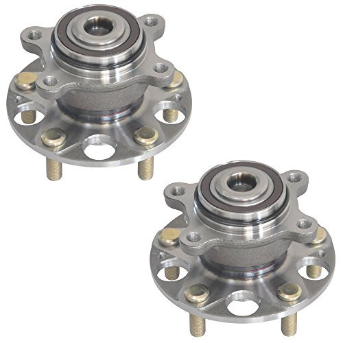 Brand New DRIVESTAR 512257x2 Pair:2 New REAR Wheel Hubs and Bearings for 06-11 Honda Civic LX GX ()