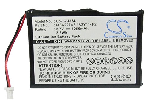 CS 1050mAh Battery Compatible With Garmin Quest 2