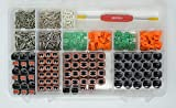 DEUTSCH 611 PCS DT 2-PIN 4-PIN CONNECTOR KIT GRAY SOLID CONTACTS + TOOL