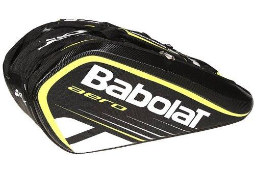 Babolat Aero 12-Pack Tennis Bag (Black/Yellow)