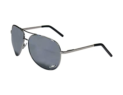 53c39125a06b Image Unavailable. Image not available for. Color  Siskiyou NFL  Philadelphia Eagles Aviator Sunglasses