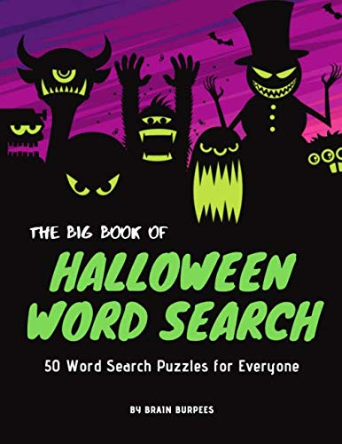 The Big Book of Halloween Word Search: 50 Word Search Activities for Everyone (Holiday Word