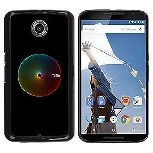 Be Good Phone Accessory // Dura Cáscara cubierta Protectora Caso Carcasa Funda de Protección para Motorola NEXUS 6 / X / Moto X Pro // Colors Rgb