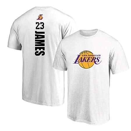 T-shirt NBA Summer Lakers # 23 Lebron James Jersey Traje De ...