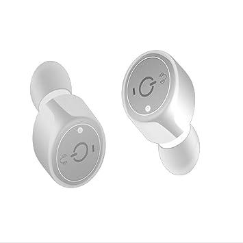 TD Auriculares Bluetooth Mini V4.1 Stealth, carga inalámbrica, auriculares dobles estéreo con
