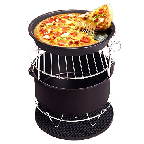 Air Fryer Accessories , Lee ' s bazaar Deep Fryers Accessories Universal for Gowise Phillips and Cozyna, Fits All 3.2QT – 5.3QT – 5.8QT