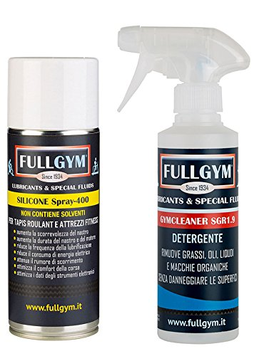 Kit Lubrificante Silicone spray + Detergente - per Tapies Roulant SPORT PERFORMER