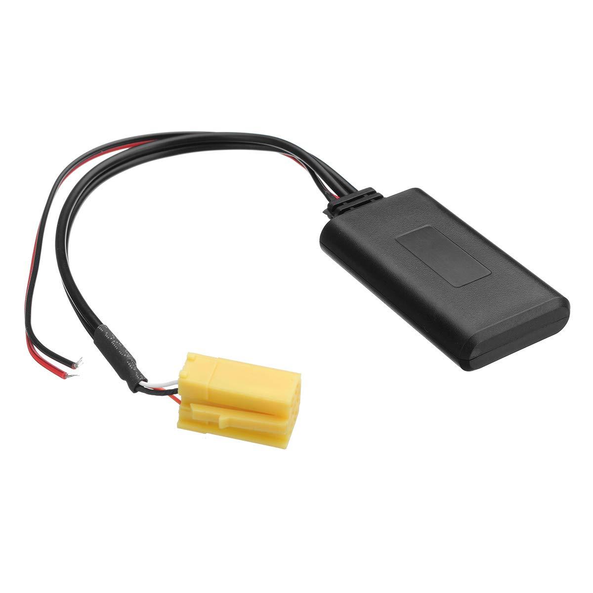 Modulo Bluetooth adattatore audio musica per Alfa Romeo 159 Fiat Grande Punto Mini ISO 6 PIN autoradio