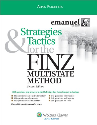 Strategies & Tactics for FINZ Multistate Method, Second Edition