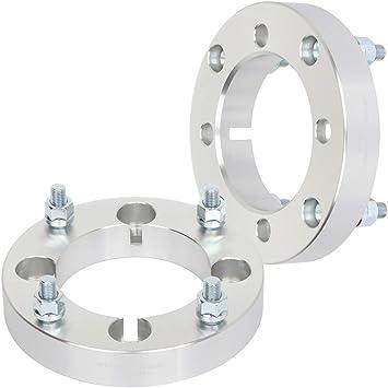 AUTOMUTO 4pcs 4x156 1 10x1.25 131 Wheel Spacers fits for Polaris RZR 900 Polaris RZR XP 1000