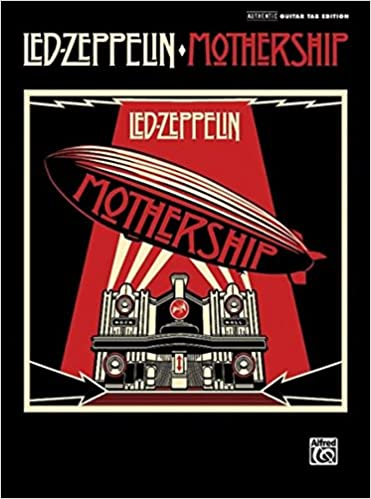 Amazon Led Zeppelin Mothership Authentic Guitar Tab Edition