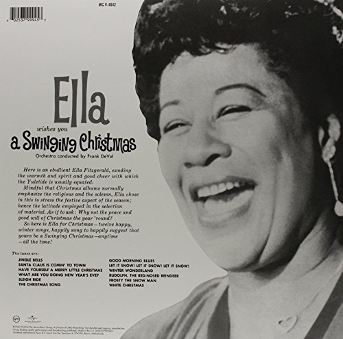 Wishes You A Swinging Christmas (Vinyl): Ella Fitzgerald: Amazon ...