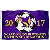 Williams College Ephs 2017 DIII Women's Soccer Champions Flag