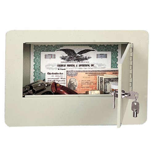 Buddy-Products-Economy-Wall-Safe-Steel-375-x-9-x-9375-Inches-Putty-3105-6