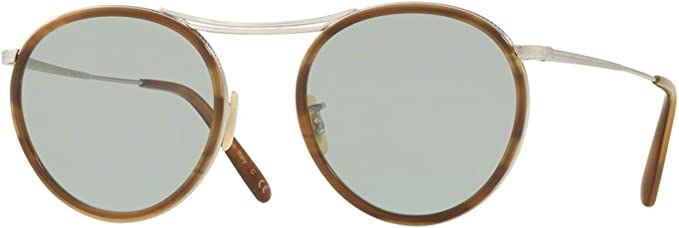 New Oliver Peoples OV 1219 S MP-3 30TH 506352 BRUSHED SILVER//HAVANA Sunglasses