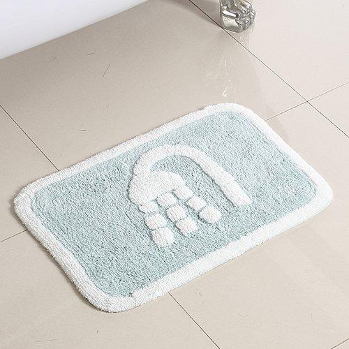 Bathroom mats floor mats door mats toilet water skid pad -5080cm c by ZYZX