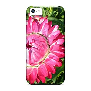 Iphone Covers Cases - Cute Round Rose Protective Cases Compatibel With Iphone 5c