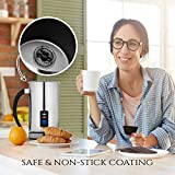 Chef's Star Stainless Steel Electric Milk Frother