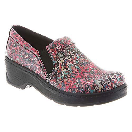 Women's Nursing Back Naples Clog Patent Footwear Poppy Leather KLOGS Closed wYZ45xq