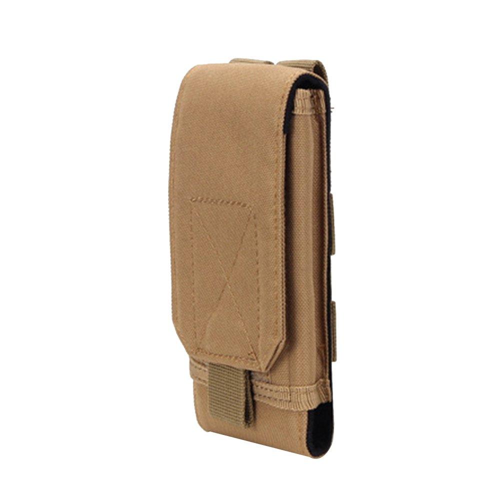 Clispeed Sacchetto tattica Molle Pouch Nylon Utility EDC del cellulare per il campeggio Escursionismo Caccia e attività all'aria aperta