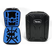 HUL Hard Shell Carrying Case for Parrot Bebop 2 FPV and Skycontroller 2 with VR Goggles