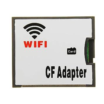 MASUNN WiFi TF Transferencia Tarjeta CF Micro SD ...
