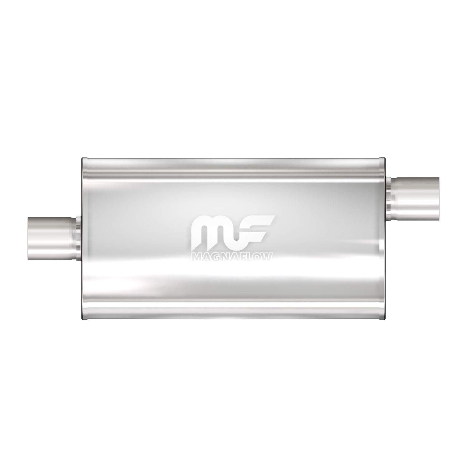 Magnaflow 12909 Stainless Steel 3.5' Oval Muffler MagnaFlow Exhaust Products