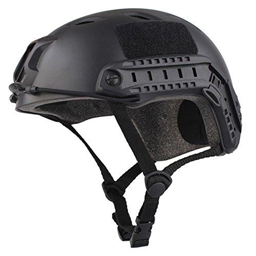 EMERSONGEAR Fast Helmet, BJ Version Tactical Military Combat Helmet Black