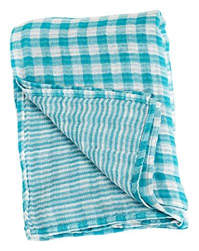 Lulujo Baby Reversible Swaddles Blanket