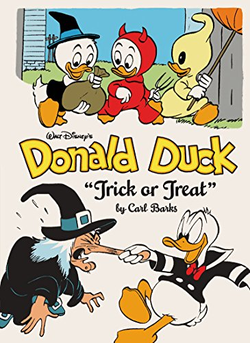 Walt Disney's Donald Duck:Trick Or Treat (The Complete Carl Barks Disney Library Vol. 13) (Vol. 13) (The Complete Carl Barks Disney Library)