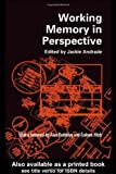 Working Memory in Perspective, , 0415211980