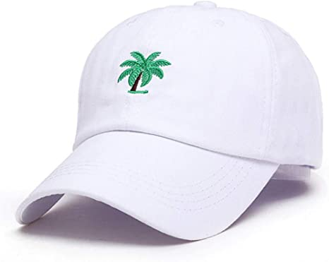 ENGXING Bordado Palmeras Sombreros De Papá Curvos Hacer Un Viaje ...