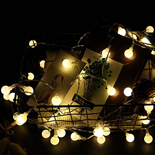 Nufelans_String Light 2.5M 20LED Fairy Lamp for Window Curtain Lights String Lamp Decorative Lights for Party Outdoor (Warm White) by Nufelans_String Light (Image #7)