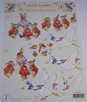 Beatrix Potter\u0027s Peter Rabbit 4 Jemima Puddle,Duck \u0026 Mrs