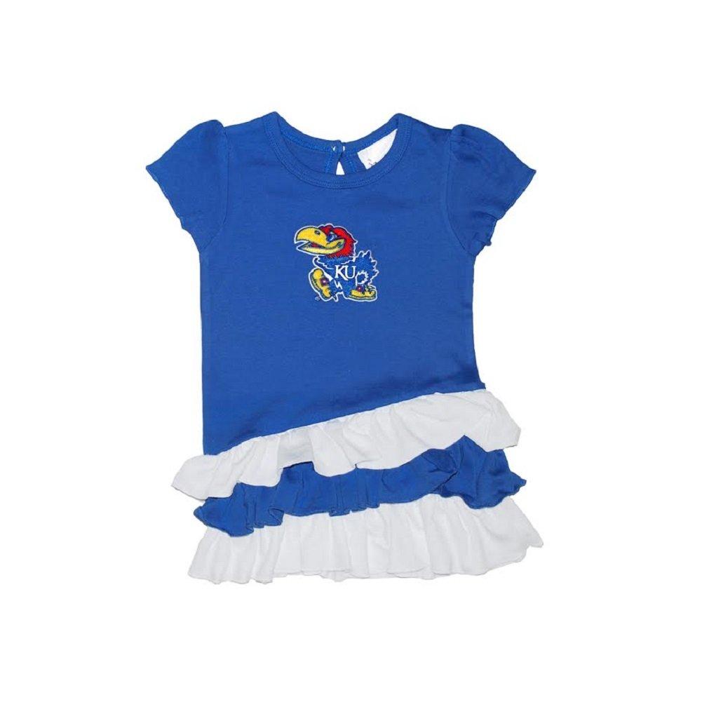 Toddler Girls Kansas Jayhawks Bias Top