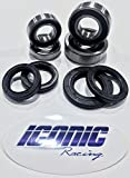 Kyпить Yamaha YZ125 YZ250 YZ250F YZ450F BOTH Front and Rear Wheel Bearings and Seals Kit OEM на Amazon.com