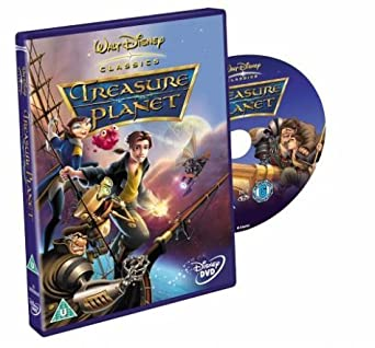 Treasure Planet Star Map.Treasure Planet Dvd 2003 By Joseph Gordon Levitt Amazon Co Uk