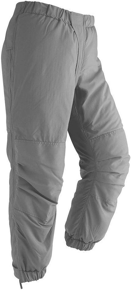 USGI L7 Extreme Cold Weather Trousers ECWCS Primaloft GEN III Gray Pants Sz LR