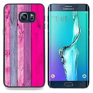 "Planetar ( Arte púrpura Naranja Rosa abstracto"" ) Samsung Galaxy S6 Edge Plus / S6 Edge+ G928 Fundas Cover Cubre Hard Case Cover"