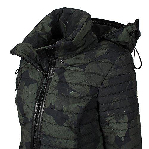 Khujo Mujer abrigo de invierno Daily oliva negro, Frauen:M: Amazon.es: Ropa y accesorios