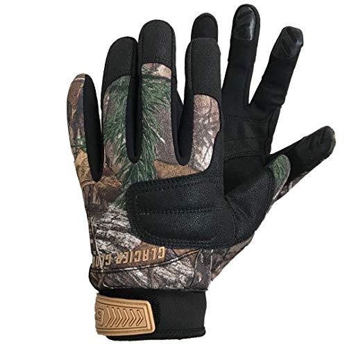 Glacier Glove Lightweight Pro Field Gloves, Realtree Xtra, Large