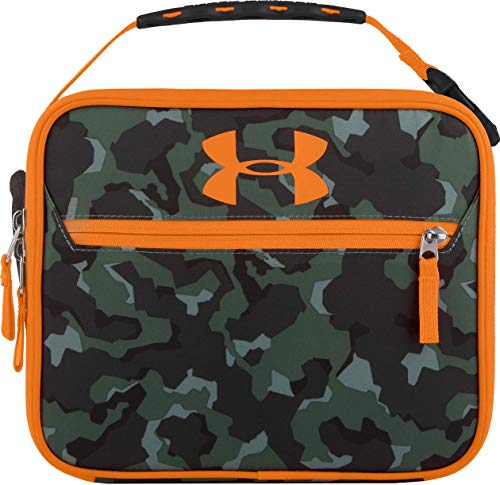 Under Armour Lunch Box, Camo/Orange