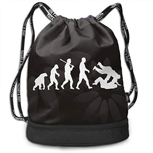 (Drawstring Backpack Evolution Judo Jiu Jitsu Rucksack)